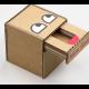 DIY งานประดิษฐ์กระปุกออมสินจากกล่องกระดาษลูกฟูก